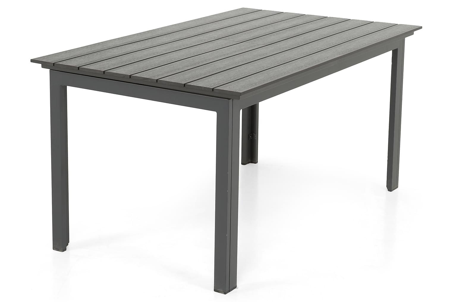 IDAHO Jatkettava Pöytä 152 Musta
