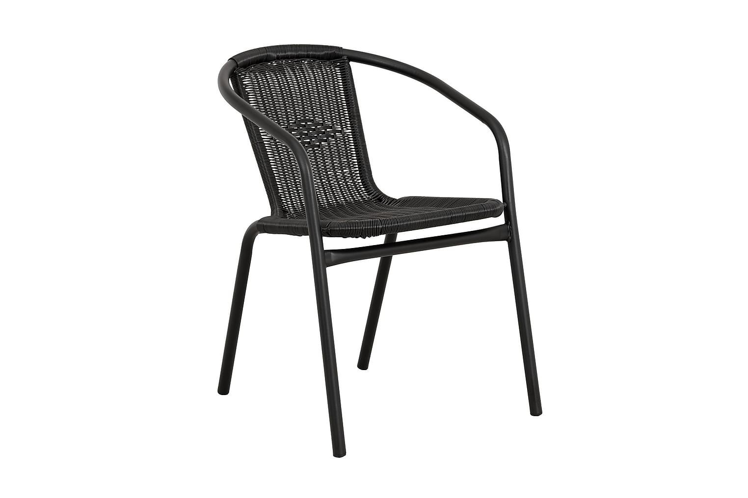 ALMEDALEN Pinottava tuoli Musta