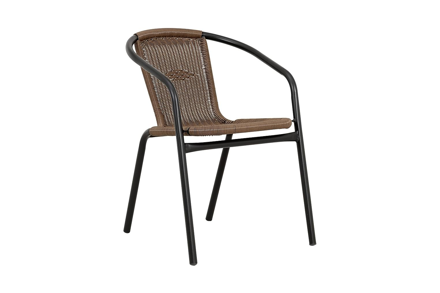 ALMEDALEN Pinottava tuoli Ruskea/Musta