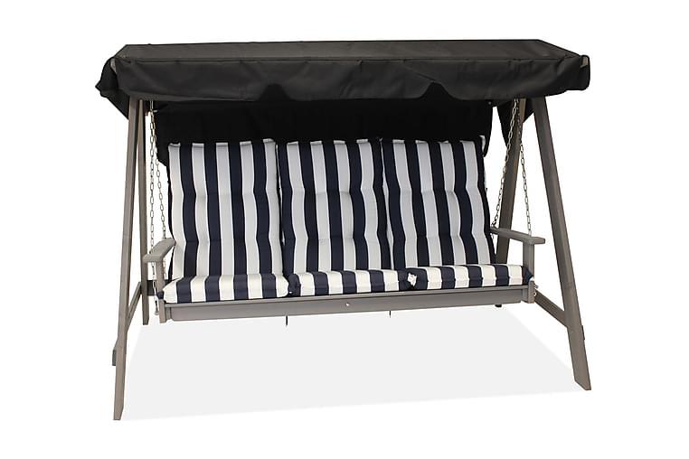 Mellby Swingseat 3 Personer Grå - Eden Wood - Utemöbler - Hängmattor & hängstolar - Hängstolar
