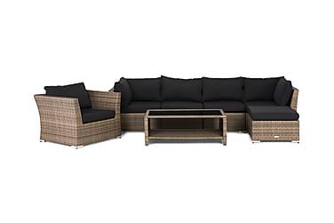 Hillerstorp Wisconsin Loungegrupp 6-sits