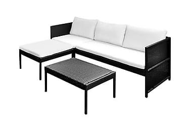 Pompano Loungegrupp 3-sits