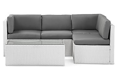Rolls Loungegrupp 4-sits Vit