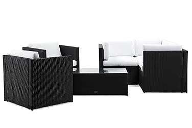 Rolls Loungegrupp 5-sits Svart