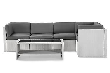 Rolls Loungegrupp 5-sits Vit