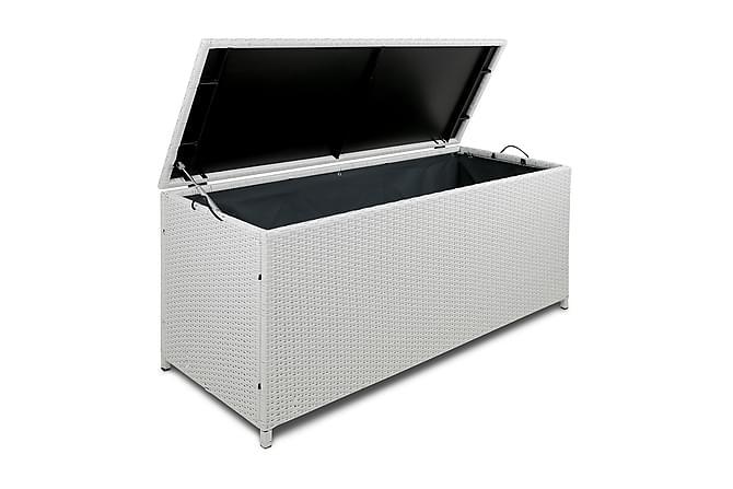 Dynbox i konstrotting till utemöbler - Vit - Vit - Utemöbler - Dynboxar & möbelskydd - Dynboxar & dynlådor