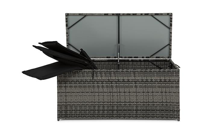 Zahara Dynbox - Grå - Utemöbler - Dynboxar & möbelskydd - Dynboxar & dynlådor