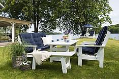 Hillerstorp Herrgård Soffgrupp Bord + Soffa + 2 Fåtöljer