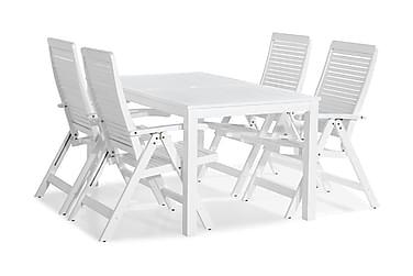 Lidö Matgrupp 150x90 + 4 Lidö Positionsstol