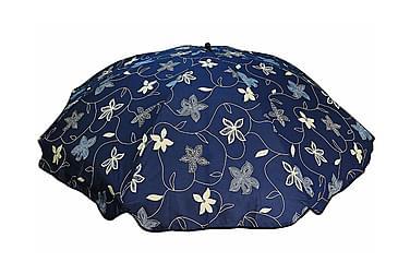 Bomulls parasoll 200 cm:Decoblue
