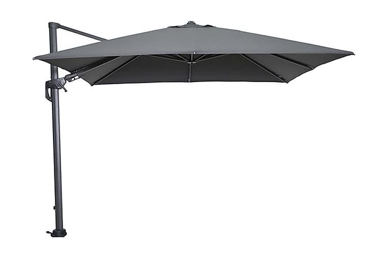 Hawaii Parasoll 300x300 cm Svart/Mörkgrå - Garden Impressions - Utemöbler - Solskydd - Parasoller
