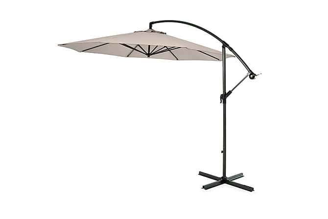 Hillerstorp Hängparasoll 300cm - Beige - Utemöbler - Solskydd - Parasoller