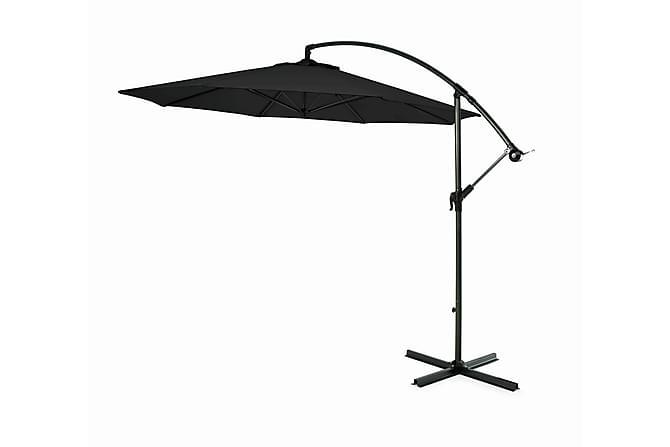 Hillerstorp Hängparasoll 300cm - svart - Utemöbler - Solskydd - Parasoller