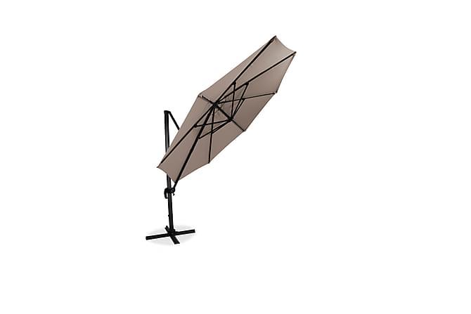 Hillerstorp Hängparasoll XL 350cm - beige - Utemöbler - Solskydd - Parasoller
