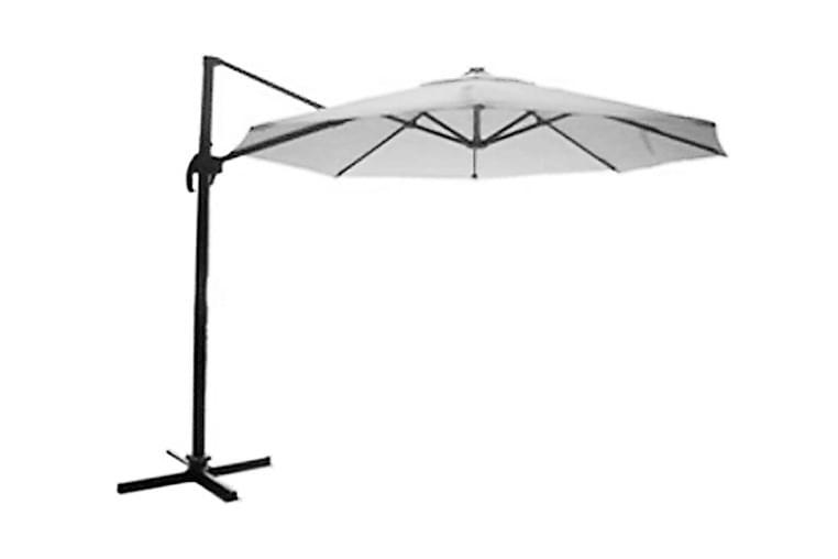 Tobago Parasoll 350 cm - Svart - Utemöbler - Solskydd - Parasoller