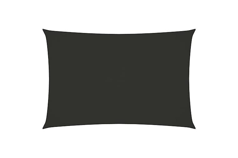 Solsegel oxfordtyg rektangulärt 2x4,5 m antracit - Antracit - Utemöbler - Solskydd - Solsegel