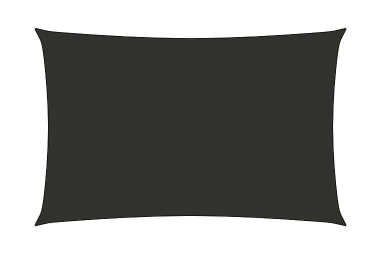 Solsegel oxfordtyg rektangulärt 3,5x5 m antracit - Antracit - Utemöbler - Solskydd - Solsegel