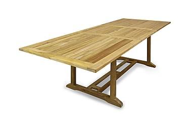 Kalmar Förlängningsbart teakbord