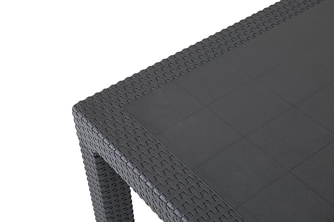 Melody Bord 160x94 cm - Antracitgrå - Utemöbler - Utebord - Matbord