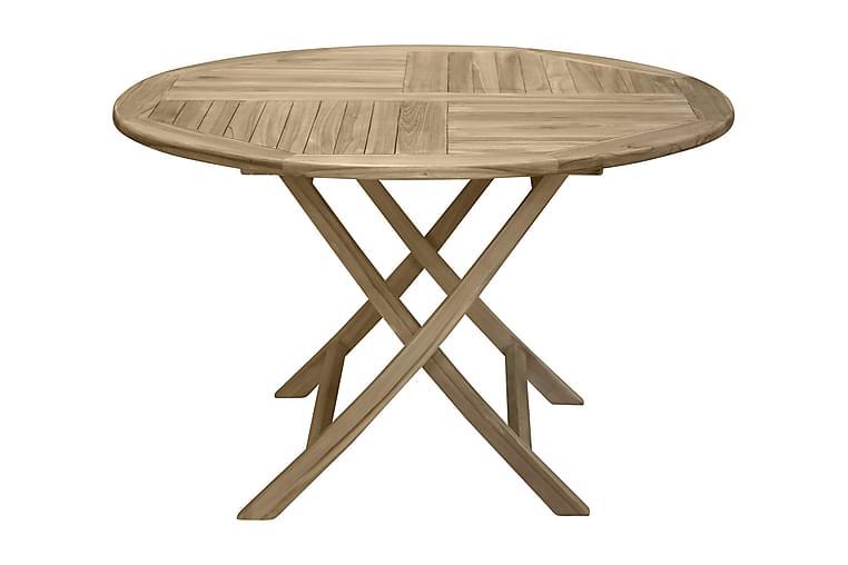 Simba Matbord 120 cm - Natur - Utemöbler - Utebord - Matbord