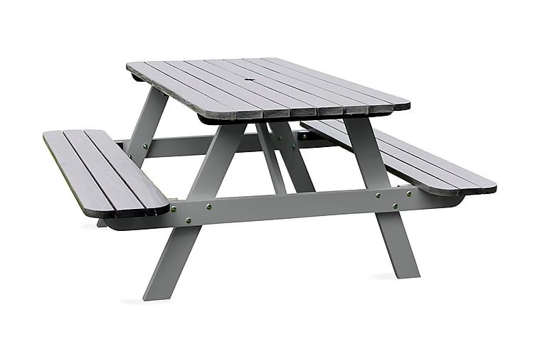Nancie Picknickbord 158 cm - Grå - Utemöbler - Utebord - Picknickbord