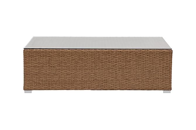 Lupo Soffbord 100x65 cm - Natur - Utemöbler - Utebord - Soffbord