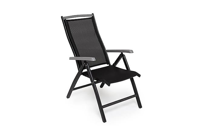 Monaco Positionsstol - Svart/Grå - Utemöbler - Stolar & Fåtöljer ute - Positionsstolar